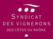 Logo rouge Syndicat des côtes du Rhône